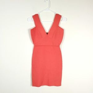 BCBG Coral Lauren Bandage Dress Bodycon Sz S